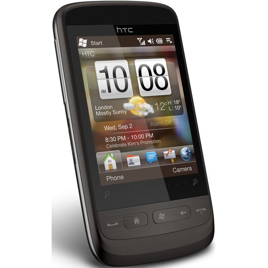 HTC Touch2 (Mega) Eng - silver