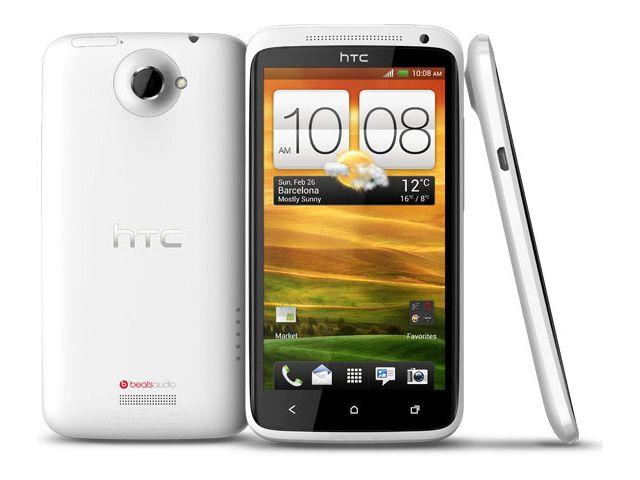 obsah balení HTC One X bílá s navigací Sygic + pouzdro Krusell Hector černé