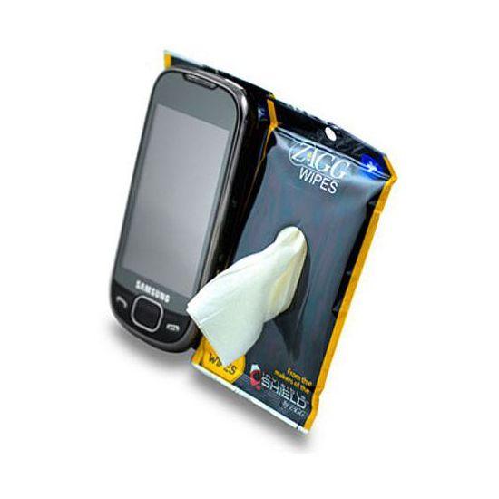 Čistící utěrky na mobilní telefony InvisibleSHIELD
