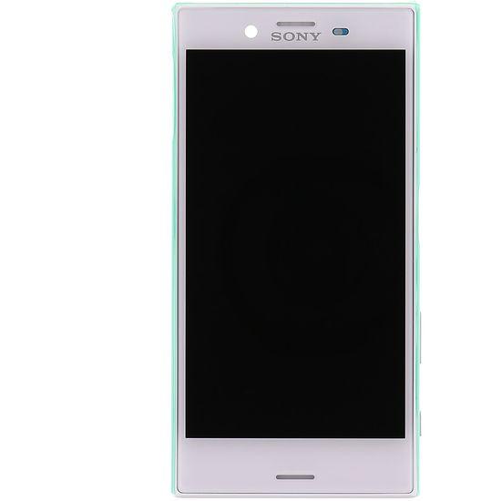 Náhradní díl LCD Display + Dotyková Deska + kompletní kryt na Sony F5321 Xperia X Compact, bílá