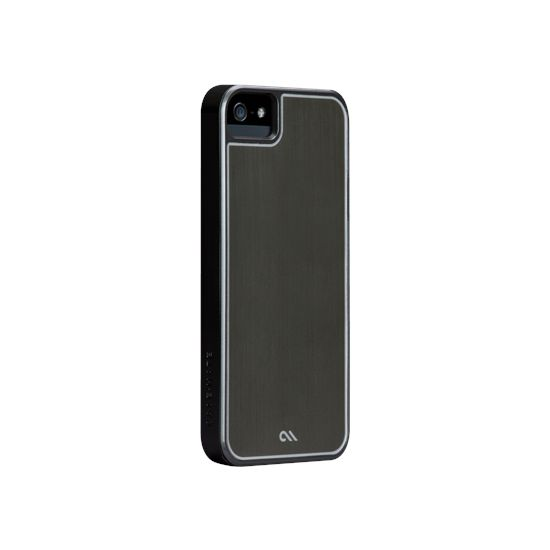 Case Mate Barely There Case Brushed Alu Silver pro Apple iPhone 5