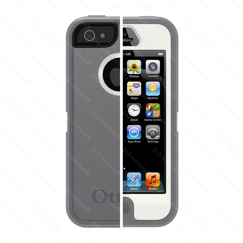 Otterbox - Apple iPhone 5 Defender - šedá  a656f9a9bba