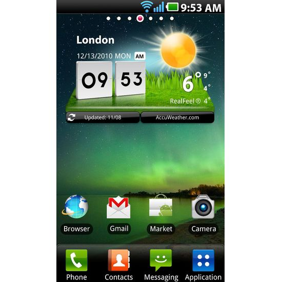 LG Optimus 2X brown + 16GB karta