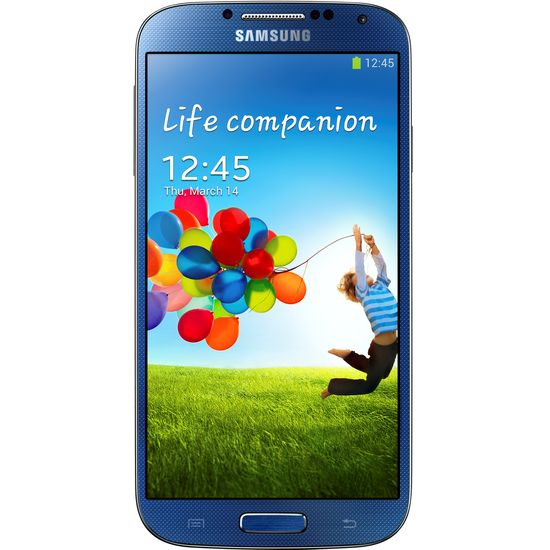 Samsung GALAXY S4 i9505 Blue + fólie InvisibleShield na displej