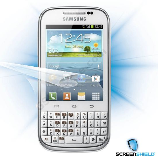 Fólie ScreenShield Samsung Galaxy Chat B5530 - displej