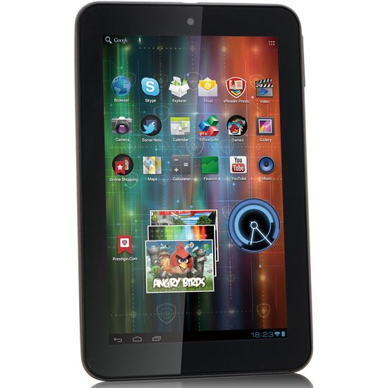 Prestigio Multipad PMP5570 16GB + Krusell Luna Tablet pouzdro (černé)