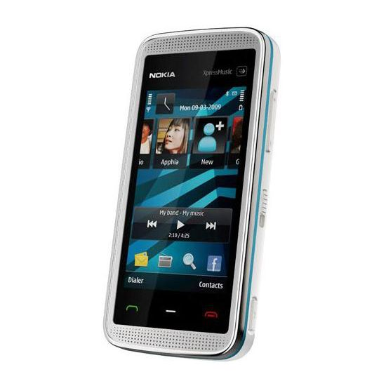 NOKIA 5530 XpressMusic White Blue 2GB