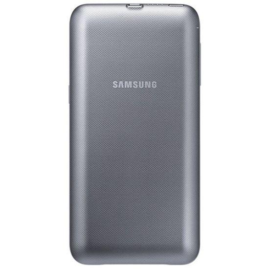 Samsung powerbanka 3400mAh pro S6 edge+ (EP-TG928BF), bezdrátová, stříbrná