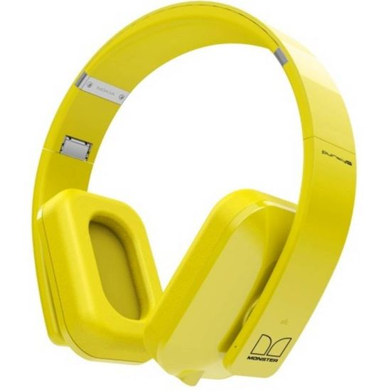 Nokia Bluetooth Stereo Headset BH-940 Purity Pro by Monster, žlutá