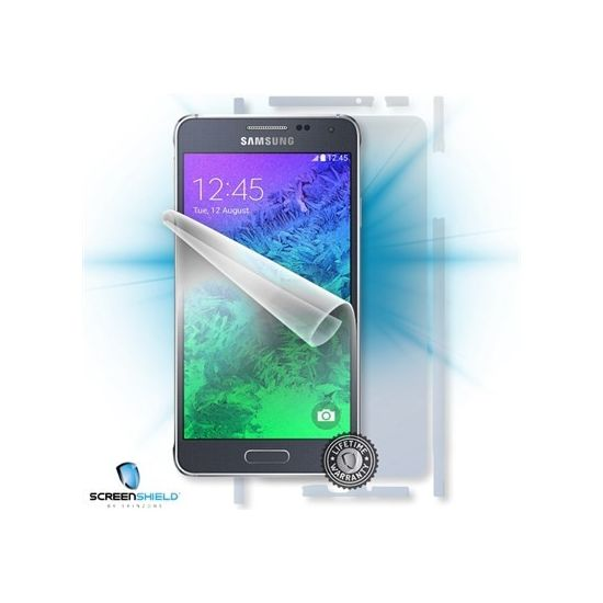 Fólie ScreenShield Samsung Galaxy Alpha - celé tělo