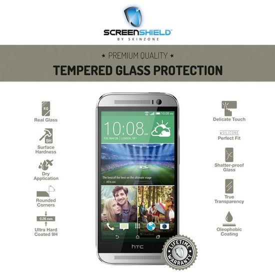 Temperované sklo ScreenShield HTC One (M8)