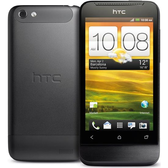 HTC One V šedý