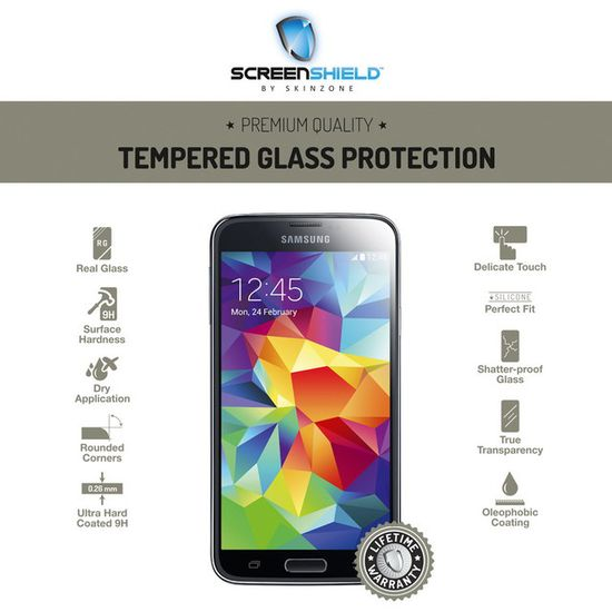 Temperované sklo ScreenShield Samsung Galaxy S5