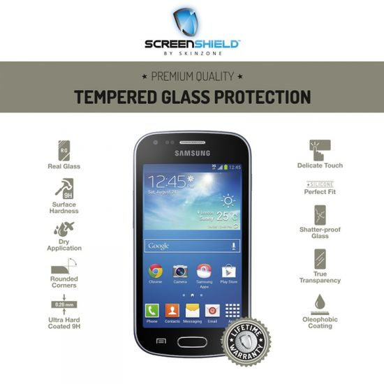 Temperované sklo ScreenShield Samsung Galaxy Trend Plus