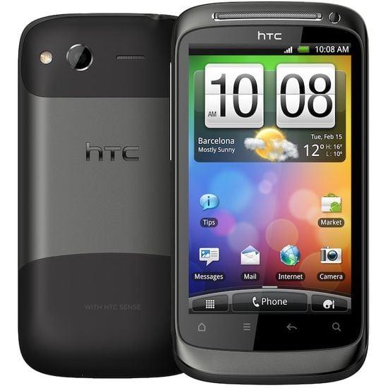 HTC Desire S stříbrná + pouzdro Krusell Orbit flex