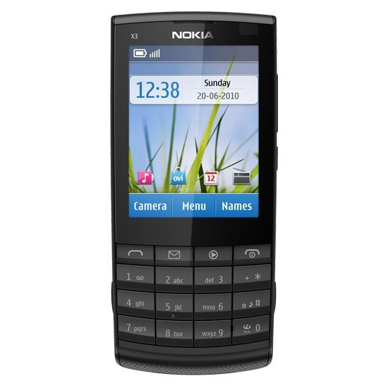 Nokia X3-02.5 Dark Metal