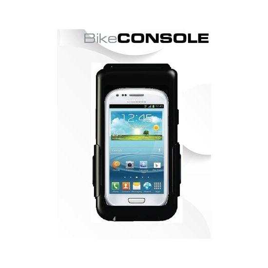 Držák BikeConsole pro Samsung Galaxy S III mini na kolo nebo motorku na řídítka + Smartmaps cykloturisticky atlas 1:40tis