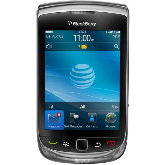 BlackBerry Torch 9800 Charcoal