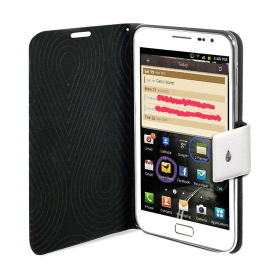 PURO pouzdro SLIM pro Samsung Galaxy Note - bílá