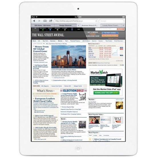 Apple iPad s Retina displejem Wi-Fi 64GB bílý + Tivizen HDTV tuner