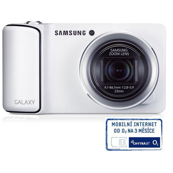 Samsung GC100 GALAXY Camera bílá