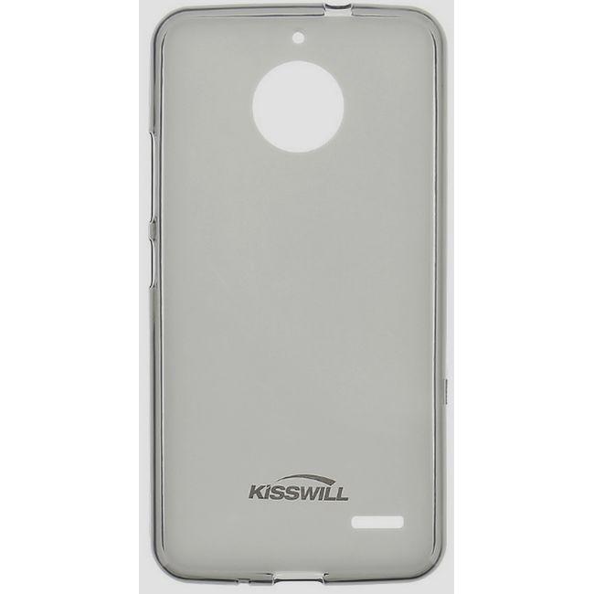 Kisswill TPU ochranný kryt na Lenovo Moto E4 černé
