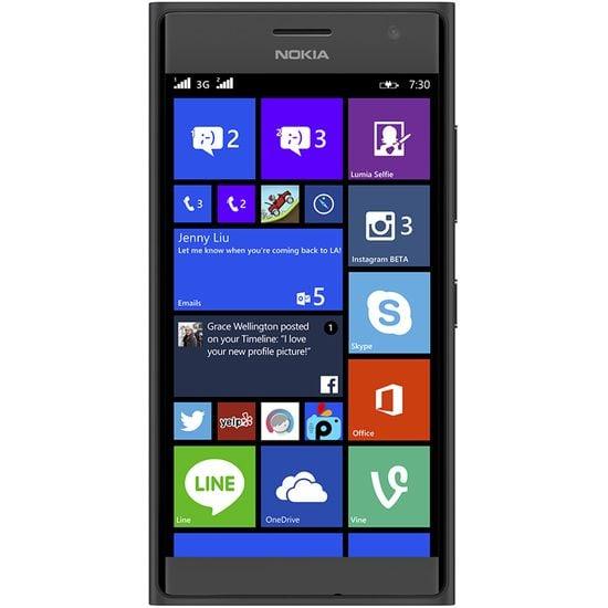 NOKIA Lumia 730 DS Dark Grey + Leef microSDHC 32GB paměťová karta