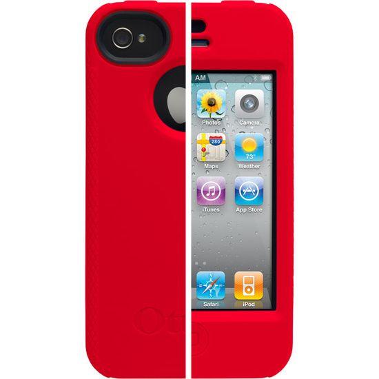 Otterbox - iPhone 4 Impact červená barva
