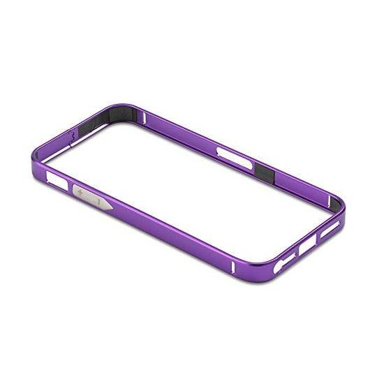 PanzerGlass ochranný hliníkový rámeček pro Apple iPhone 5/5s, fialový